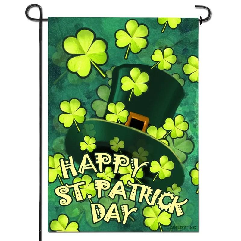 St patrick day flag