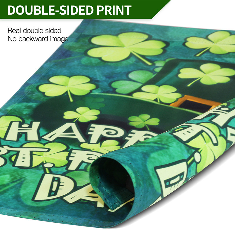 St patrick day flag print