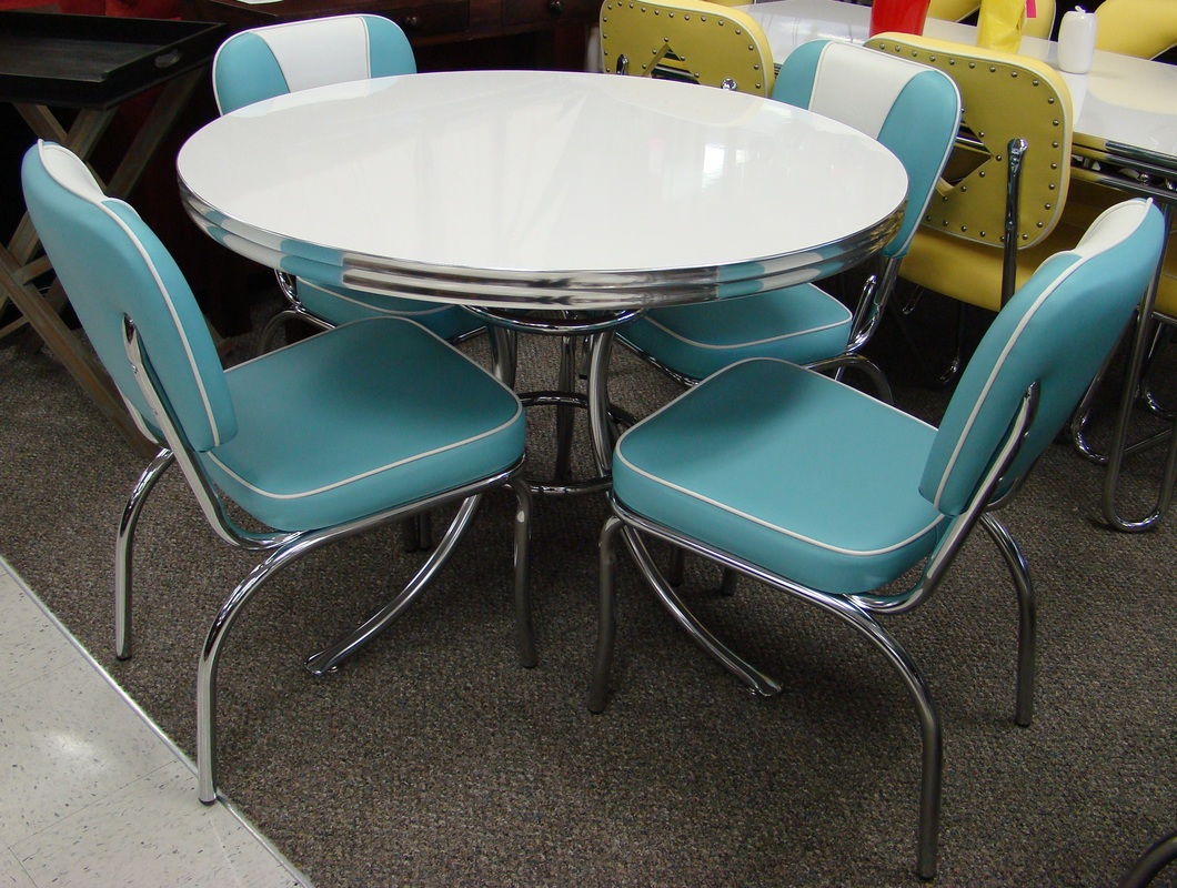 vintage table and chairs stadium chair company cool retro dinettes