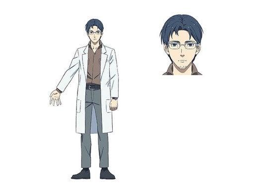 Personaje Daichi Shometsu Toshi