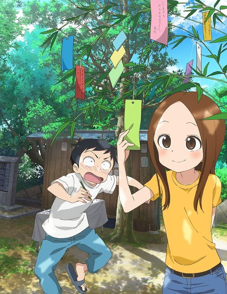 La segunda temporada de Karakai Jouzu no Takagi-san revela una imagen promocional