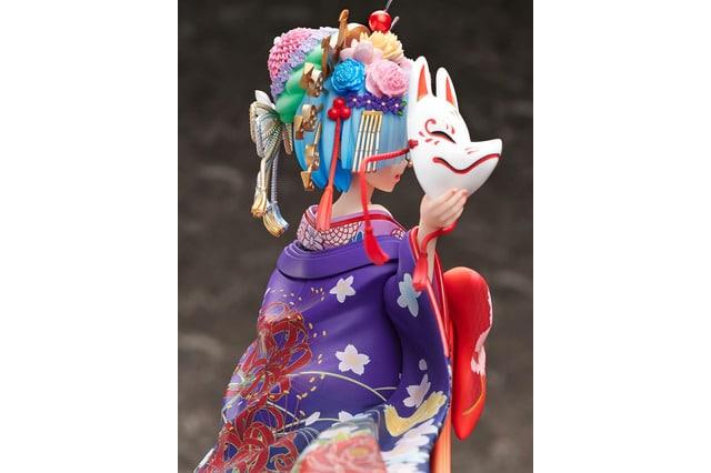 Rem de Re:Zero estrena una figura anime vistiendo un kimono