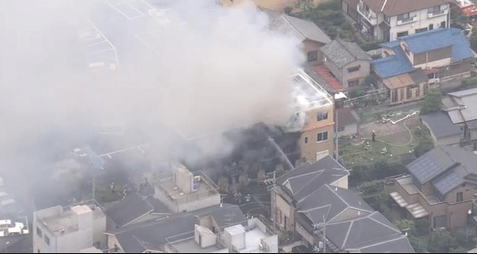 Incendio intencional deja al menos 10 muertos en estudio Kyoto Animation