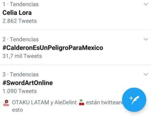 El anime Sword Art Online se vuelve tendencia en México
