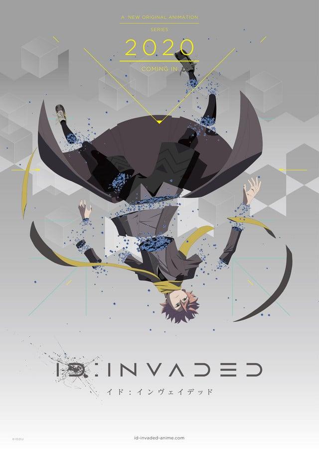 El anime original ID: INVADED revela su primer tráiler oficial