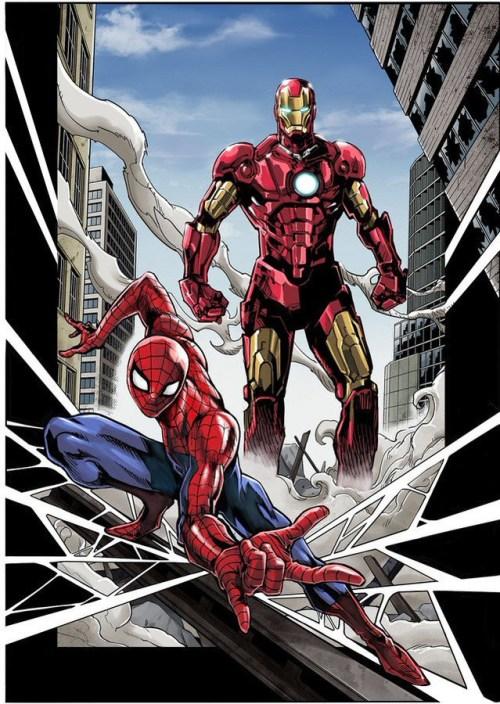 Los superhéroes de Marvel Comics llegan a Japón para una serie mangas