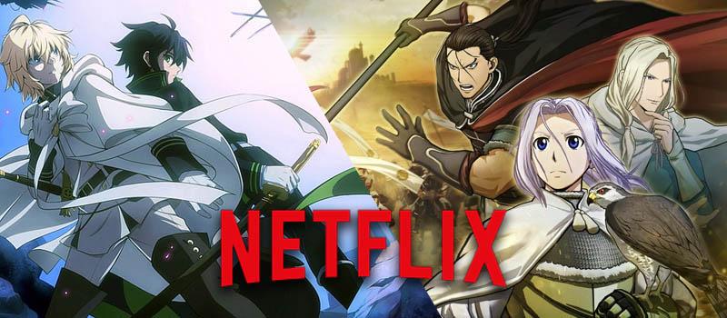 Los animes que llegan a Netflix España el 1 de diciembre