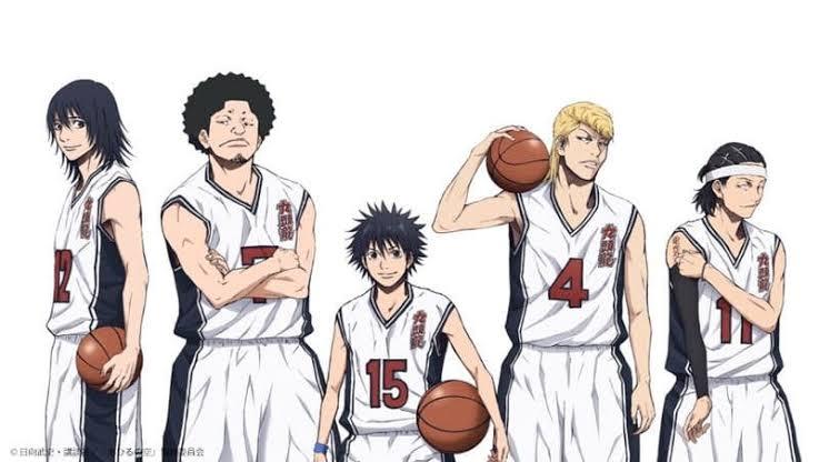 Ahiru no Sora estrena una línea de balones de baloncesto - Noticias Anime y Manga   ANMO Sugoi
