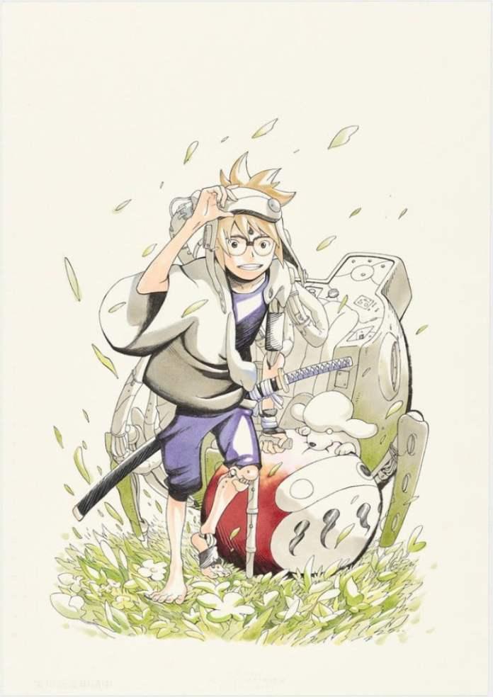 Debido a las malas ventas, finaliza el manga Samurai 8: Hachimaruden