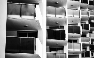 Urban photography in black and white