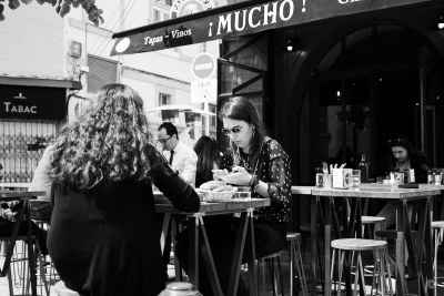 Mucho conversational space