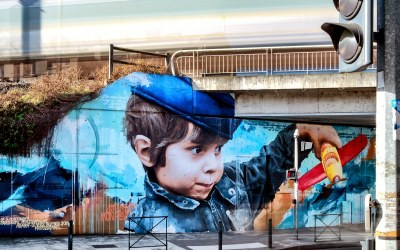 Street art in urban public spaces  – A follow up