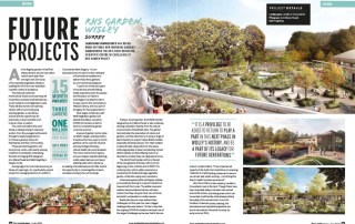 Article on Ann-Marie Powell Gardens designed large scale project at RHS Wisley