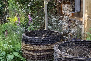ann-marie-powell-gardens-royal-horticultural-society-chelsea-flower-show-gardens-2016-greening-grey-britain-health-horticulture-happiness-bespoke-compost bins garden design garden designer
