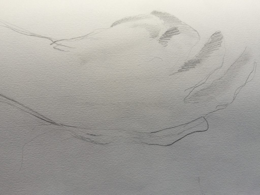 pencil hand