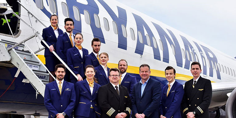 Ryanair set to grow by over 20 this winter in Bristol