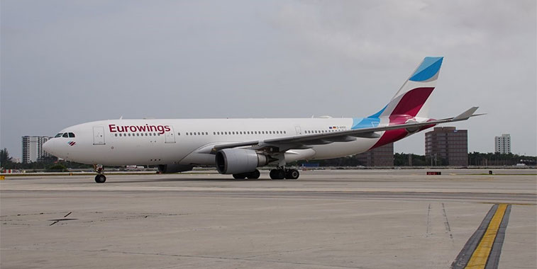 Eurowings feels the new route heat in Miami