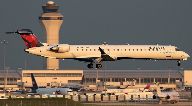 Endeavor Air has 124 aircraft serving over 100 mostly US