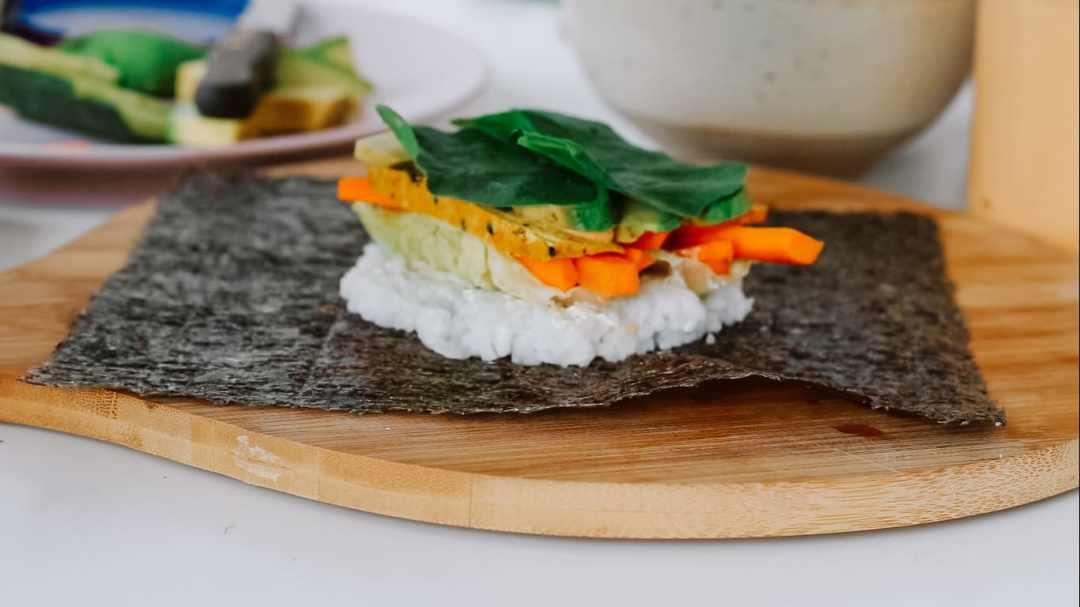 füllung sushi sandwich