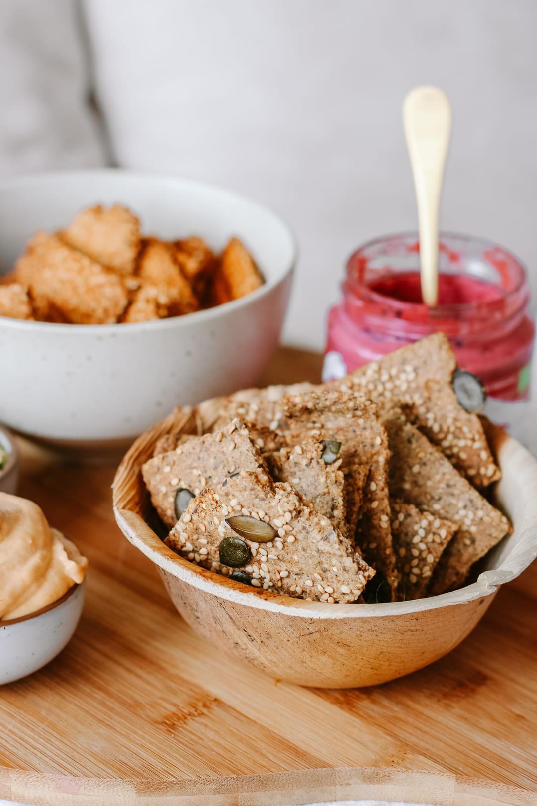 cracker rezept gesund