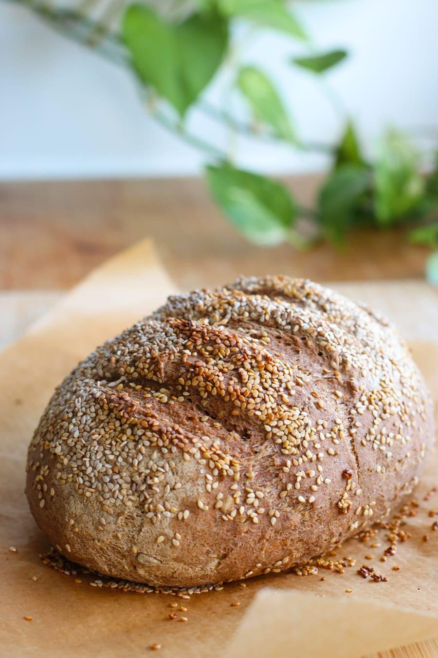 glutenfreies Brot essen
