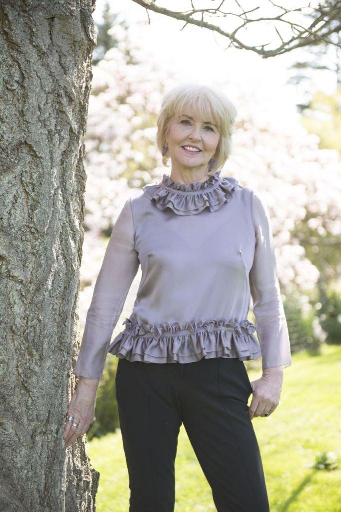 Victoria Jane McKenna - a luxury British Silk brand - The Bonnie Blouse