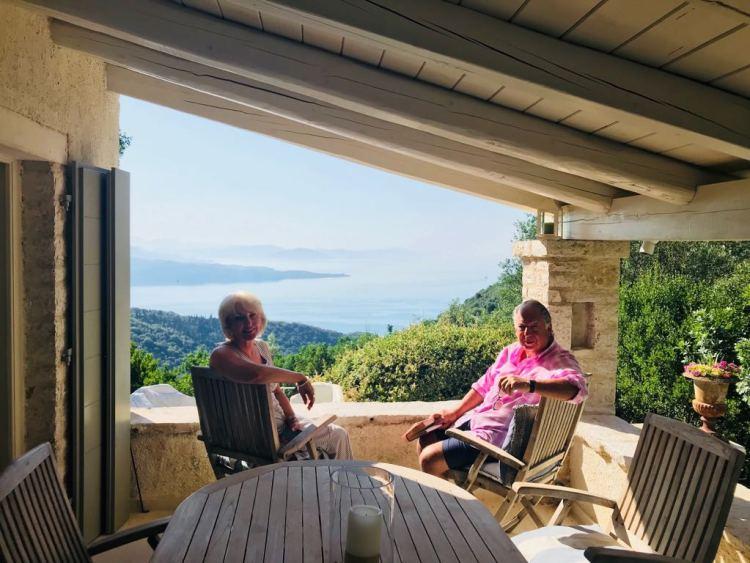 Last year on Rou Estate, Corfu