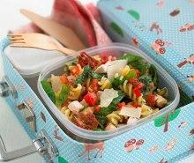 Pasta, Pesto & Chicken Salad