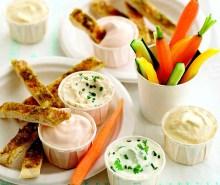 Garlic Pitta Breadsticks