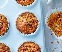 Apple & Carrot Muffins with Maple Syrup