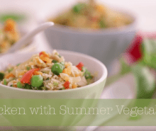 Annabel's Chicken with Summer Vegetables