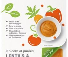 Lentils & Vegetable Puree Stage 2