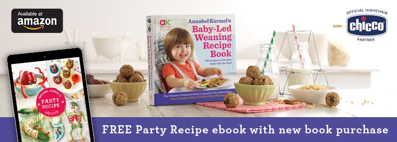 Free ebook with baby led weaning recipe book purchase annabel karmel forumfinder Image collections