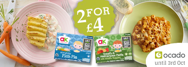 chilled meals 2 for £4 at ocado
