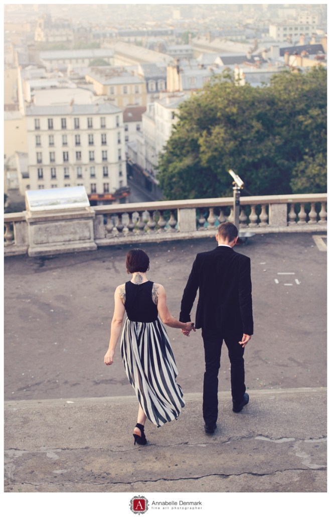 """Famous steps of the Sacre Coeur, as see in the Movie """"Amelie"""""""