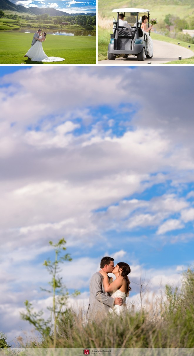 A Gorgeous gold course wedding in Colorado