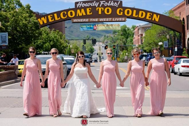A gorgeous golf course wedding in Colorado