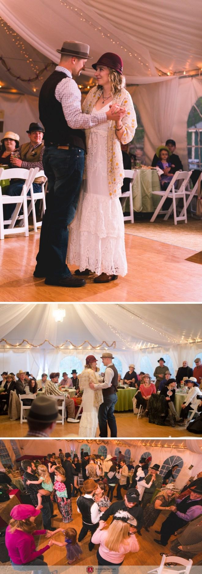 Hat Wedding in Colorado's Foohills