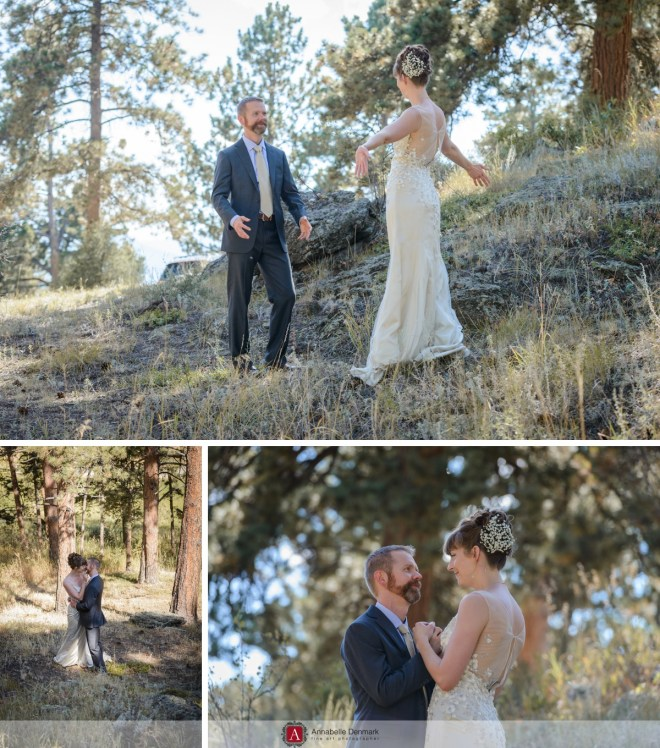 A mountain wedding in Estes Park