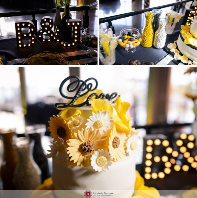 An urban Colorado wedding : candy table