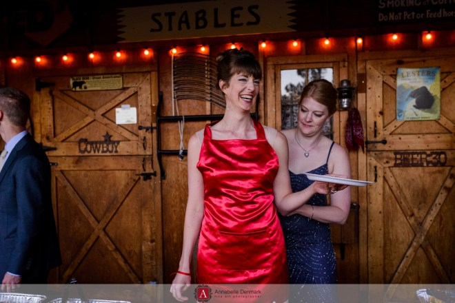 A casual Wedding in Estes Park