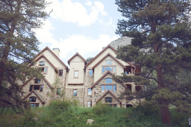 Wedding venue: Della Terra, Estes Park, Colorado