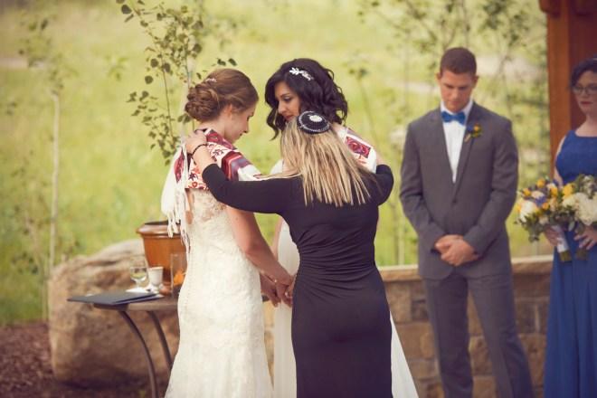 Jewish Lesbian Wedding Ceremony Estes Park, CO
