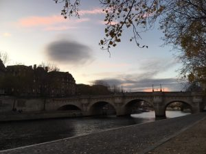 Pont Neuf during lockdown
