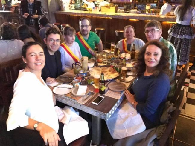 Mat och kultur i Bogota