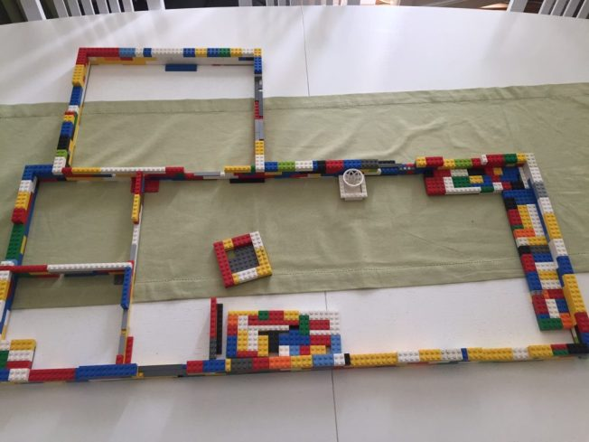 Legoritning hus
