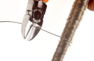 come tranciare un filo metallico