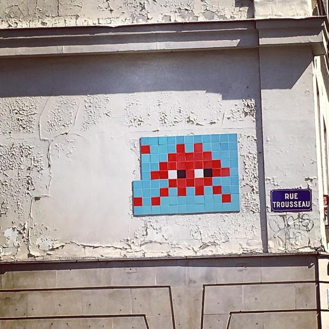 Arte cittadina invader spaceinvaders art metropolis paris mylife love beautifulparishellip