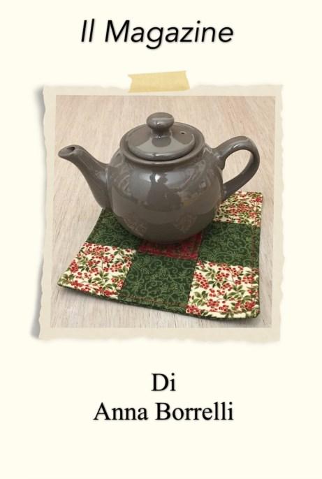 presina o mug rug in patchwork