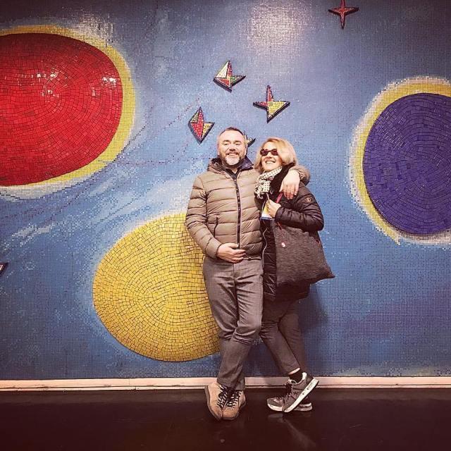Installazione artistica esposizione darte? No! Metropolitana Napoli fermata Dante Unahellip